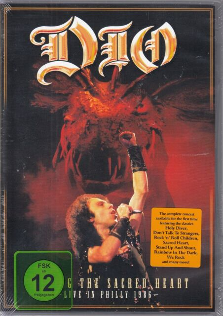 Dio / Finding the Sacred Heart: Live in Philly 1986 (DVD, NEU!)