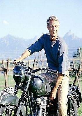 The Great Escape Steve McQueen  Retro Movie Poster A0-A1-A2-A3-A4-A5-A6-MAXI 329