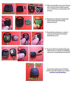 Pictorial guide for fitting in Silicone pad in Toyota Avensis, Yaris, Verso, Prius and more