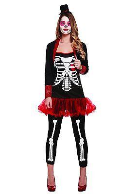 Damen Tag der Toten Damen Kostüm Mexikanisch Halloween Senorita Kostüm