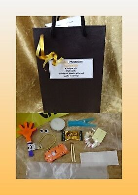 Halloween ZOMBIE Infestation Survival Kit Novelty Humorous Laugh Fun Gift bag  - Halloween Thank You Gifts