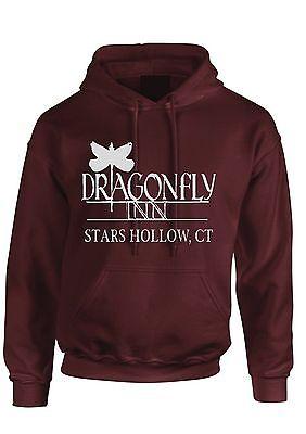 Dragonfly inn hoodie Gilmore girls hoody tv series kids Adult top
