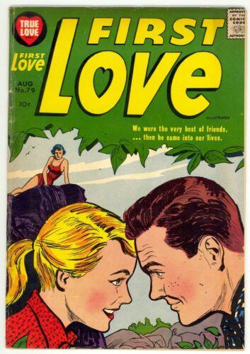 First Love Illustrated (1949) #79 Harvey Scarce Romance Bob Powell Lee Elias FN