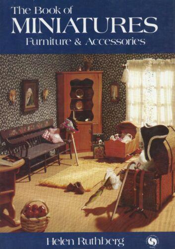 Miniature Dollhouse Furniture Accessories / Scarce In-Depth Book