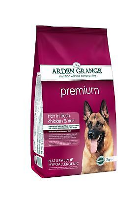 Arden Grange Chicken & Rice Premium Adult Dog Food 2kg
