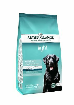 Arden Grange Chicken & Rice Light Dog Food 2kg