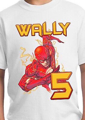 The Flash Birthday Party Supplies (Flash Shirt / The Flash Party Supplies / Flash T Shirt / Flash)