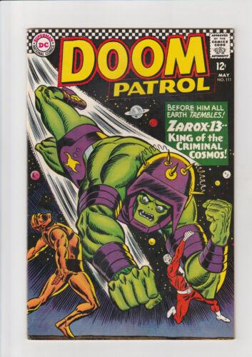 The Doom Patrol #111 (May 1967, DC) VF/NM