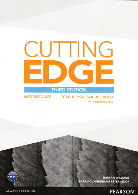 CUTTING EDGE Intermediate THIRD EDITION Teacher's Book with Resource Disc @NEW@