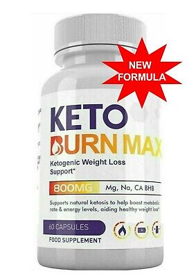 KETO BURN MAX Ketogenic Weight Loss Support - 60 CAPSULES-1 BOTTLE