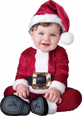 Infant Toddler Baby Santa Clause Christmas Costume  (Toddler Santa Costume)