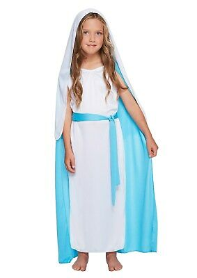 MARY VIRGIN COSTUME NATIVITY PLAY GIRLS BOOK DAY - Mary Nativity Play Costume