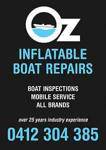 INFLATABLE BOAT REPAIRS ( MOBILE SYDNEY ) Glendenning Blacktown Area Preview