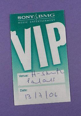Justin Timberlake - Sexy Back Showcase Concert VIP Pass Hammersmith Palais 2006