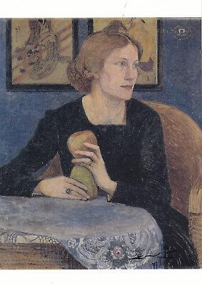 Postkarte: Heinrich Vogeler - Porträt Martha Vogeler