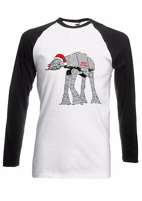 Rudolph Star Wars Christmas Men Women Long Short Sleeve Baseball T Shirt 1769