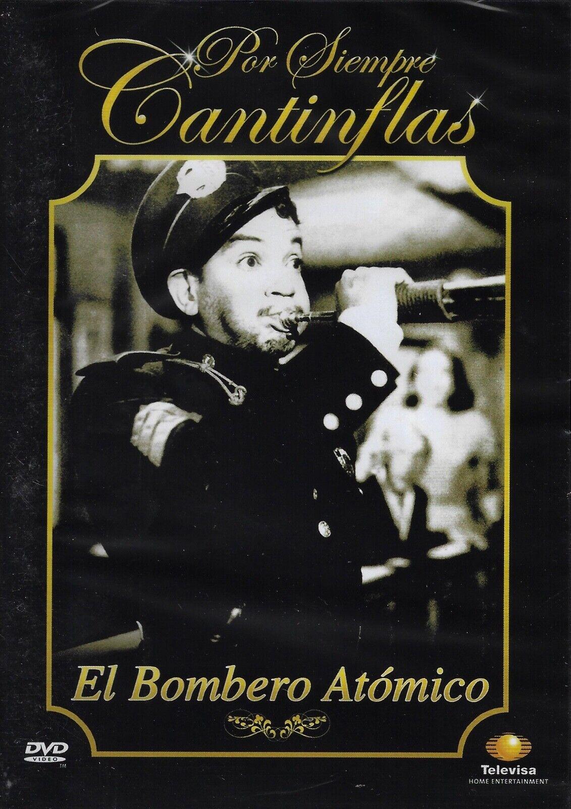 El Bombero At mico Por Siempre Cantinflas Brand- New Dvd  - $10.50