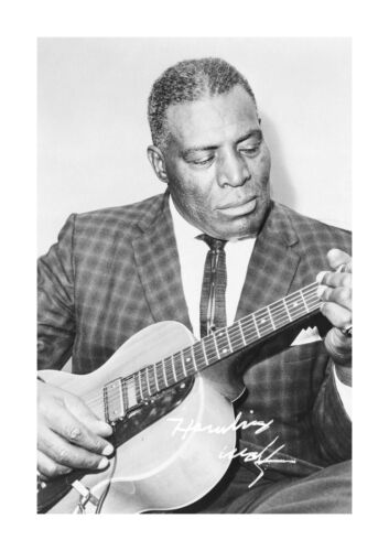 Howlin Wolf 2 A4 reproduction autograph photograph poster with choice of frame