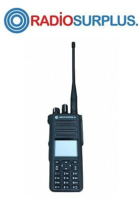 2x Motorola Xpr7580 800mah Radio And Antenna Aah56ucn9kb1an