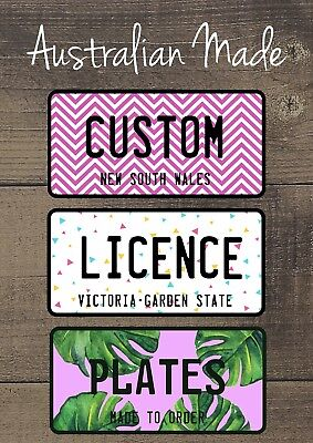 For sale Personalised Name Novelty Car Licence Number Plates | Custom Kids Gift Ideas