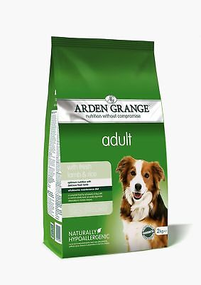 Arden Grange Lamb & Rice Adult Dog Food 2kg