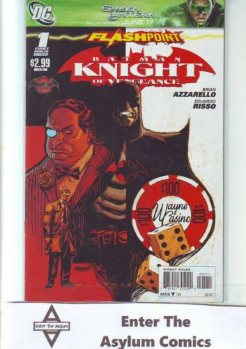 DC FLASHPOINT BATMAN KNIGHT OF VENGEANCE #1 2011 FIRST PRINT SAME DAY DISPATCH