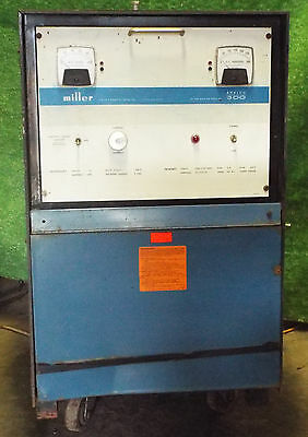1 Used Miller Analog 300 Welder 208230460 Volt Make Offer