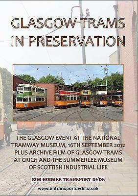 Glasgow Trams In Preservation DVD