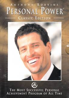 Anthony Robbins Personal Power Classic Edition 7 CD New/Sealed