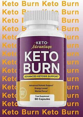 Keto Advantage Keto Burn ( 60 capsules) - 1Month Supply - 1 Bottle