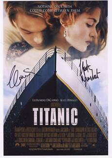 Titanic autographed Movie photos of actors Robina Gold Coast South Preview