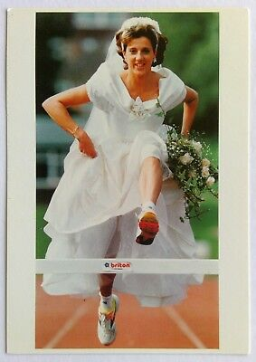 Olympic Gold Medal Winner To Marry Michael Maloney 1993 Postcard (P263)