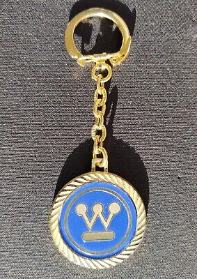 Vintage Westinghouse Electric Corp HIT USA Gold Keychain US