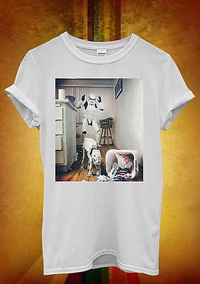 Star Wars Storm Trooper and Dog  Funny Men Women Unisex T Shirt Tank Top Vest 24