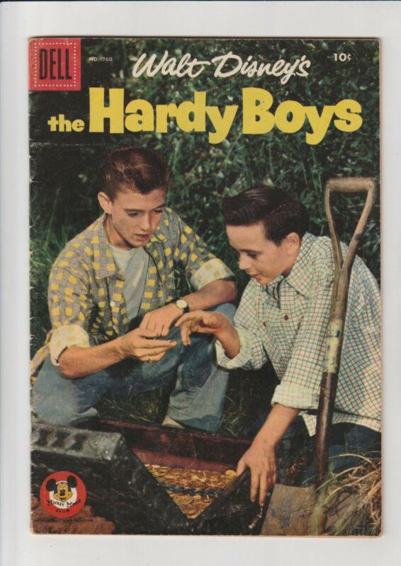 Hardy Boys #760 VG 1956 Dell Comic