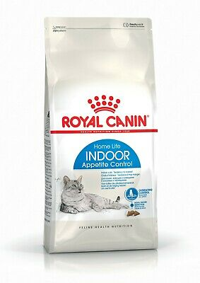 ROYAL CANIN® Indoor Appetite Control Adult Dry Cat Food 400g