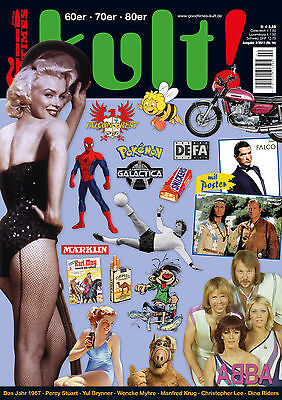 GoodTimes kult #16 Winnetou und Old Shatterhand- + Falco-Poster, Alf,  VEB Defa