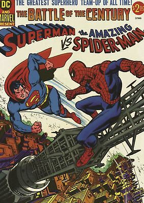SPIDERMAN V SUPERMAN A3 POSTER PICTURE PRINT (Superman Picture)