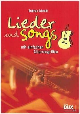Stephan Schmidt - Lieder und Songs mit einfachen Gitarrengriffen