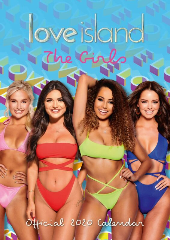 Love+Island+Girls+2020+Official+A3+Wall+Calendar