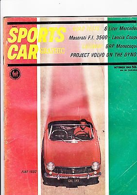 Sports Car Graphic magazine (USA) - October 1963 - fascinating for sale  Shipping to Nigeria