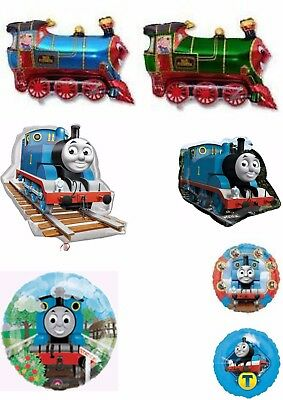 Trains Thomas The Tank Engine Balloons Party Ware Decoration Novelty Gift Helium (Thomas The Tank Engine Party)
