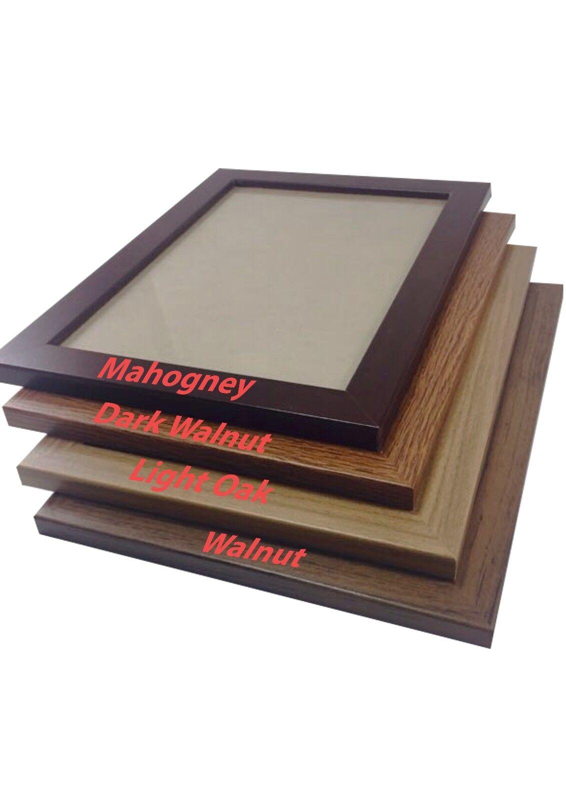 Poster Frame, Photo Frames ,Modern Picture Frame in Wood Eff