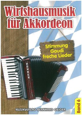 Wirtshausmusik für Akkordeon Band 6 - Noten - Akkordeon - SB 78