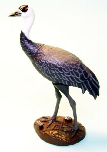 Kaiyodo Natural Monuments #36 Hooded crane bird mini figure US seller