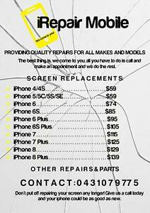 iPhone Repair - iRepair Mobile - We Come To You!!!Prices From $59