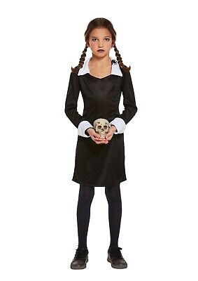 SCARY DAUGHTER COSTUME HALLOWEEN ADAMS GIRL FANCY DRESS GIRLS