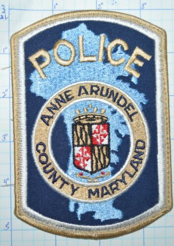 MARYLAND, ANNE ARUNDEL COUNTY POLICE DEPT PATCH