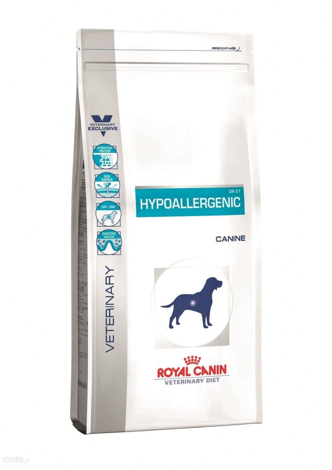 14kg ROYAL CANIN  Hypoallergenic DR 21 Veterinary Diet von BRAVAM Blitzversand
