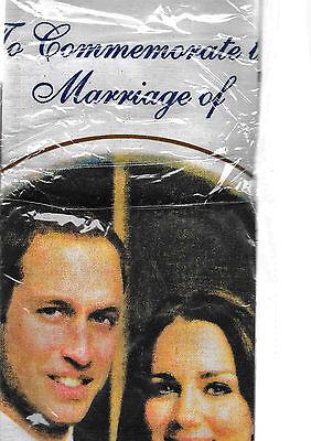 WILLIAM AND CATHERINE ROYAL WEDDING TEA TOWEL